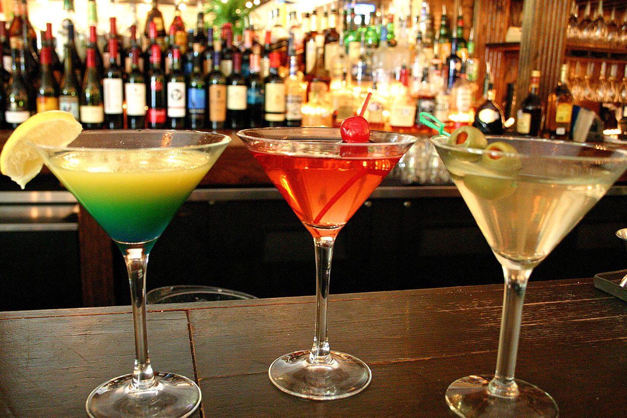 Pallotta's three specialty cocktails