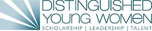 Distinguished Young Women logo